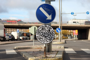 Road signs for robot cars 15