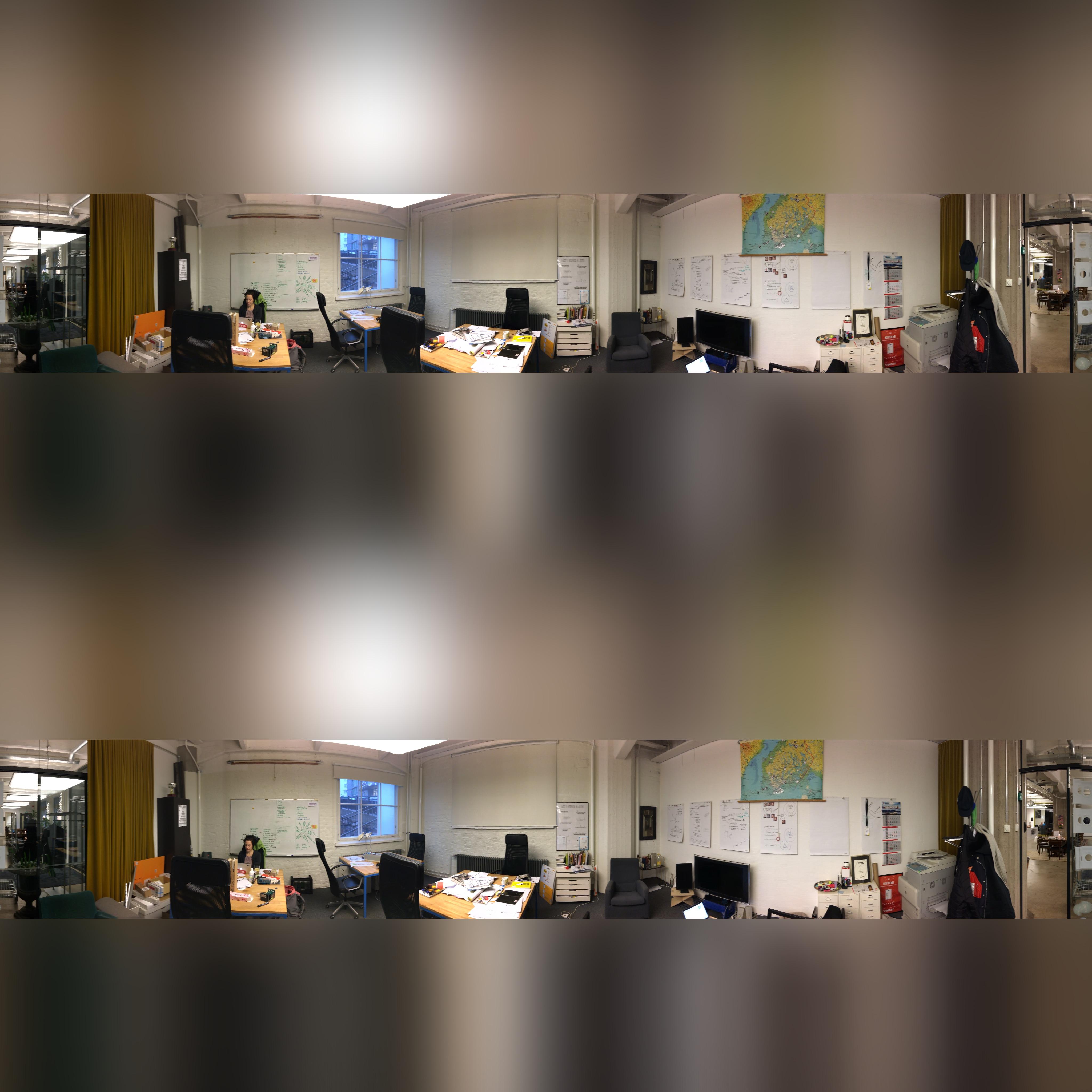 Toimisto tänään 360° muodossa