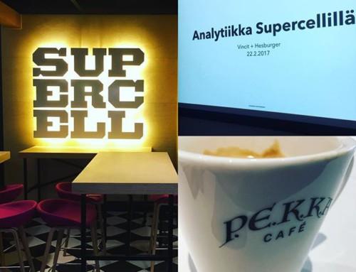 Iltapäiväkahvilla @supercellgames @hesburgerfin tiimin kanssa