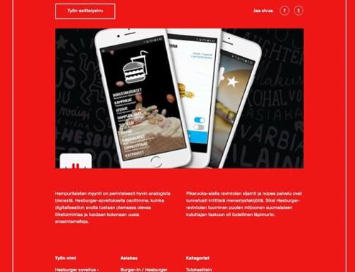 Pitkäaikaisen asiakkaamme Hesburgerin ja Passi&Ripatin yhteinen jatkuva projekti, Hesburger-sovellus, on ehdolla kolmeen sarjaan tämän vuoden Grand Onessa: Paras mobiilipalvelu, Tuloksellisin verkkopalvelu, Paras UX Design. Annamme ison arvon Hesburgerin johdolle ja koko kenttäväellä yhteistyöstä! Kiitokset myös Satumaan Salliselle sovelluksen look&feelistä ja Vincitille teknisestä toteutuksesta! @hesburgerfin @sfbagency @vincit_ltd