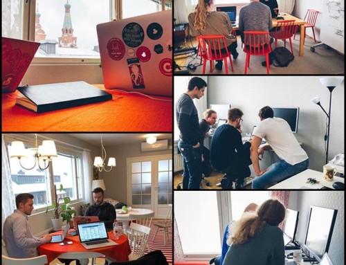 """Vincitin """"mummolassa"""" kahden tiimin projektitreffit – Hese meets Finnpark, Finnpark meets Hese @ Tampere, Vincit keskusta"""